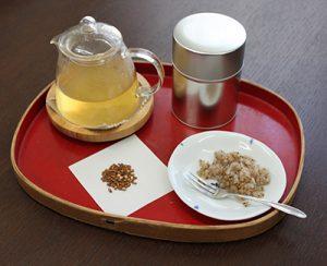 玄米茶の中身