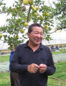 生産者の小坂隆さん
