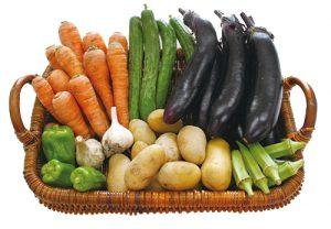 屋後さんの野菜セット