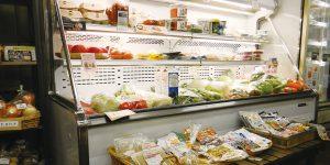 店舗内 冷蔵コーナー